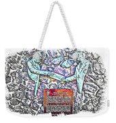 Atlantic Charter Monument Weekender Tote Bag