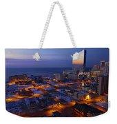 Atlantic City At Dawn Weekender Tote Bag