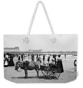 Atlantic City Beach, C1901 Weekender Tote Bag