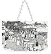 Atlantic City Boardwalk 1940 Weekender Tote Bag