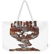 Atlantic City Rusty Skyline Weekender Tote Bag