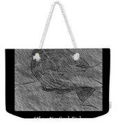 Atlantic Cod Fish Sketch Weekender Tote Bag