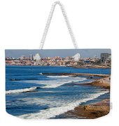 Atlantic Ocean Coast In Cascais And Estoril Weekender Tote Bag