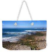 Atlantic Ocean Shore In Estoril Weekender Tote Bag