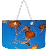 Atlantic Sea Nettle Jellyfish Weekender Tote Bag