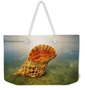 Atlantic Trumpet Triton Shell Weekender Tote Bag