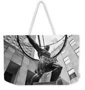 Atlas Of New York City Weekender Tote Bag