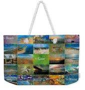 Atmospheric Beaches   Weekender Tote Bag