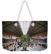 Atocha Railway Station Interior In Madrid Weekender Tote Bag