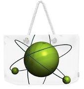 Atom Structure Weekender Tote Bag by Johan Swanepoel