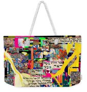 Atomic Bomb Of Purity 2a Weekender Tote Bag by David Baruch Wolk