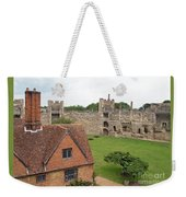 Atop The Castle Wall Weekender Tote Bag