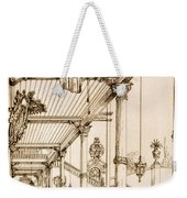 Atrium Of A Palace, In Genes, From Art Weekender Tote Bag