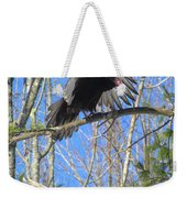 Attack Of The Turkey Vulture Weekender Tote Bag