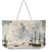 Attack On Fort Mifflin, 1777 Weekender Tote Bag