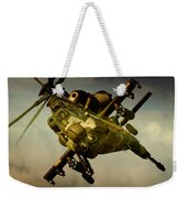 Attacking Rooivalk Weekender Tote Bag