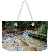 Au Train Falls II Weekender Tote Bag