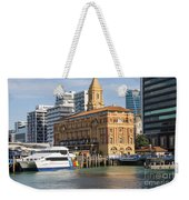 Auckland Ferry Terminal Weekender Tote Bag