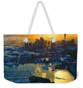 Auckland Oil On Canvaz Weekender Tote Bag