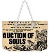 Auction Of Souls Weekender Tote Bag