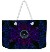 Audio Purple Glow Weekender Tote Bag
