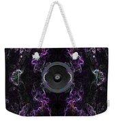 Audio Purple Neon Weekender Tote Bag