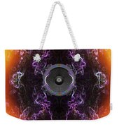 Audio Purple Orange Weekender Tote Bag