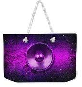 Audio Purple Weekender Tote Bag