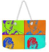 Audrey Hepburn 20130330v2 Four Weekender Tote Bag