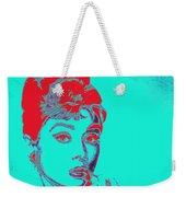 Audrey Hepburn 20130330v2p128 Square Weekender Tote Bag