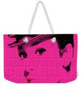 Audrey Hepburn 4 Weekender Tote Bag