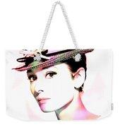 Audrey Hepburn 6 Weekender Tote Bag