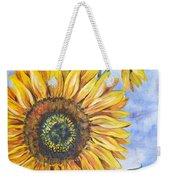 Audrey's Sunflower Weekender Tote Bag