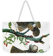 Audubon Chuck-will's Widow Weekender Tote Bag