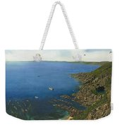 August Afternoon At Whitsand Bay Cornwall Weekender Tote Bag