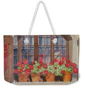 August At The Auberge  Weekender Tote Bag