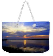 August Sunset Reflection Weekender Tote Bag