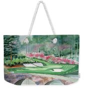 Augusta National 12th Hole Weekender Tote Bag