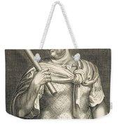 Aullus Vitellius Emperor Of Rome Weekender Tote Bag