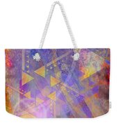 Aurora Aperture - Square Version Weekender Tote Bag