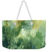 Aurora Borealis Abstract Weekender Tote Bag