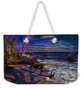 Aurora Borealis Over Florida Weekender Tote Bag