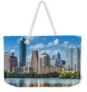 Austin Daytime Skyline Weekender Tote Bag