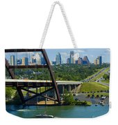 Austin From The 360 Bridge Weekender Tote Bag