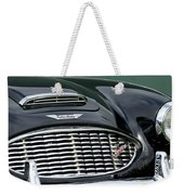 Austin-healey 3000 Grille Emblem Weekender Tote Bag by Jill Reger