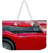 Austin Healey Red Weekender Tote Bag