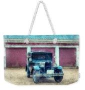 Austin Seven Watercolor Weekender Tote Bag