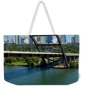 Austin Texas 360 Bridge Vert Weekender Tote Bag