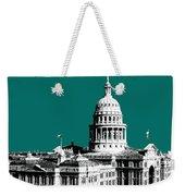 Austin Texas Capital - Sea Green Weekender Tote Bag