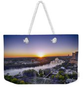 Austin Texas Sunset Hour Weekender Tote Bag